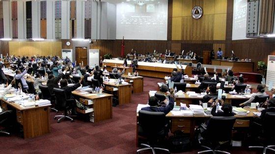 É a segunda vez em legislaturas sucessivas que bancadas do parlamento timorense pedem a destituição do presidente do Parlamento Nacional
