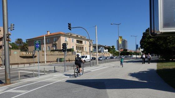 A Avenida de Montevideu é uma das avenidas atlânticas do Porto que vai ter a circulação automóvel condicionada