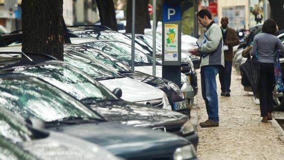 O estacionamento público esteve gratuito durante um período devido à Covid-19
