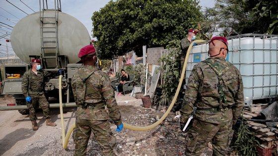 O relatório foi elaborado por especialistas do Exército como uma própria previsão da pandemia
