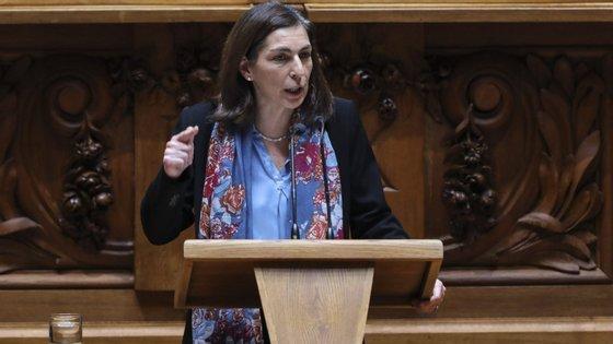 """Ana Catarina Mendes, considerou este sábado que """"Portugal continua a ser um farol de esperança"""""""