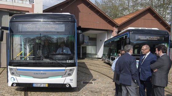 A STCP é a empresa que gere transportes coletivos na área metropolitana do Porto