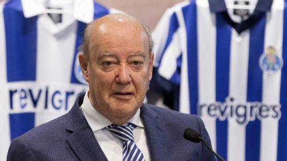 Pinto da Costa volta a ser candidato à presidência do clube