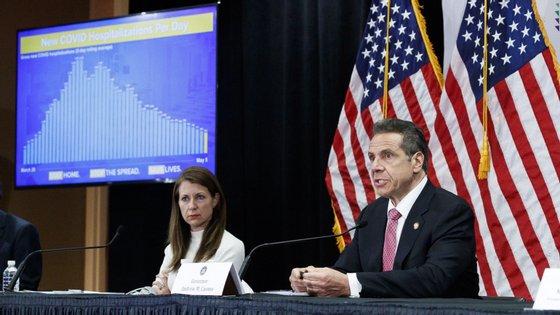 O governador do Estado de Nova Iorque, Andrew Cuomo, disse que não há evidência do que as crianças tiveram primeiro