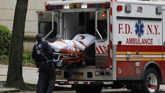As autoridades federais estimam cerca de mais 4.000 mortes em relação aos números oficiais registados entre março e início de maio