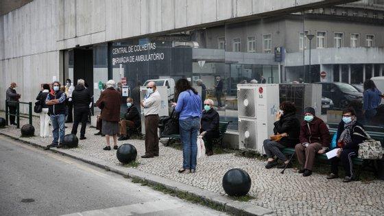Número de casos em Lisboa e Vale do Tejo começou a superar o Norte na semana passada e tem sido uma tendência a acentuar-se