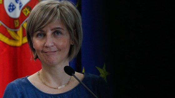 """""""2020 tem sido um ano particularmente exigente para todos os profissionais de saúde e também para os enfermeiros"""", sublinhou a ministra"""