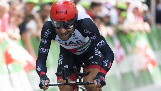 Ulissi terminou a Volta aos Emirados Árabes Unidos na nona posição