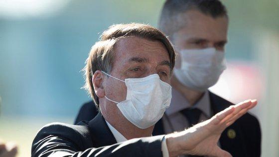Bolsonaro realizou os exames ao novo coronavírus após regressar de uma viagem aos EUA