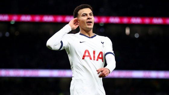 O jogador de 24 anos foi um dos trunfos de José Mourinho desde que o treinador português chegou ao Tottenham