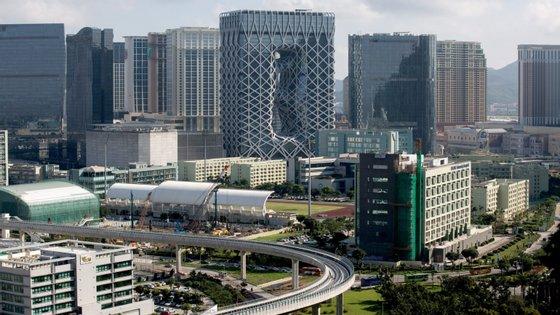 Capital mundial do jogo, Macau é o único local na China onde o jogo em casino é legal