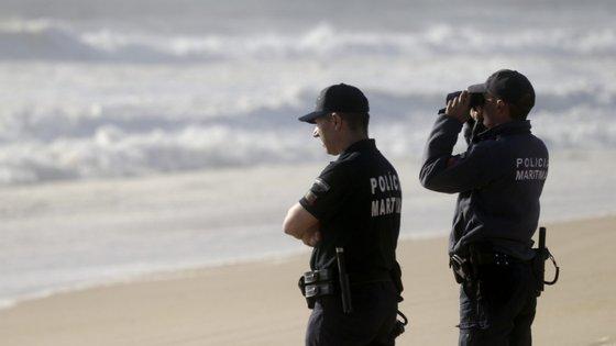 Além da Polícia Marítima, as operações contaram com o apoio dos Bombeiros de Ílhavo e de Vagos