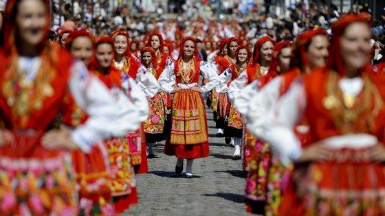 As Festas da Nossa Senhora da Agonia são uma das principais romarias do norte do país