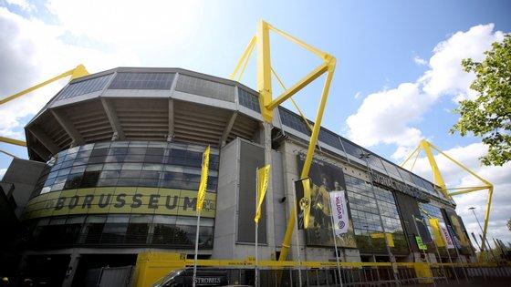 O estádio do Borussia de Dortmund