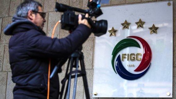 A Liga italiana foi interrompida em 9 de março