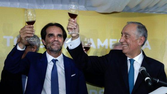 """Alburquerque diz que direita deve ter candidato a Presidente que """"não se limite a gerir a conjuntura através da propaganda política"""""""