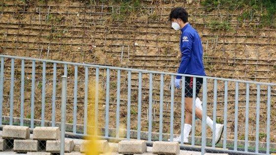 Atl. Madrid regressou aos treinos no passado dia 9 de maio, tendo sido detetado num caso positivo no plantel (Renan Lodi)