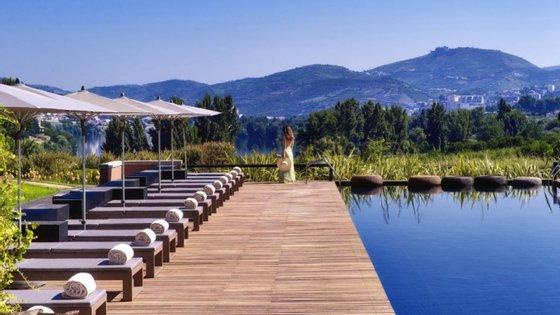 O Six Senses Douro Valley está situado na margem sul do rio