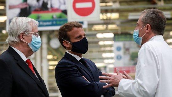 O líder francês sublinhou que nada poderá sair desta situação com uma resposta isolada