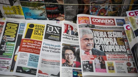 """Muitos """"jornais migraram só para o digital"""", tendo em conta a drástica queda da publicidade, na sequência do impacto da pandemia"""