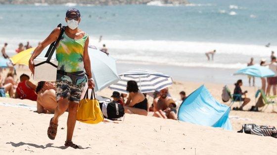 A meio da semana passada, o IPMA tinha alertado para uma subida de temperatura em Portugal continental acima do normal para o mês de maio