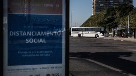 A AML aponta para uma afluência mais elevada de utentes aos transportes públicos de passageiros no início do mês de junho