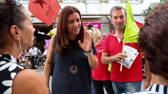 A eurodeputada e antiga candidata presidencial apoiada pelos bloquistas, Marisa Matias, comentou em vídeo o discurso do Presidente da República