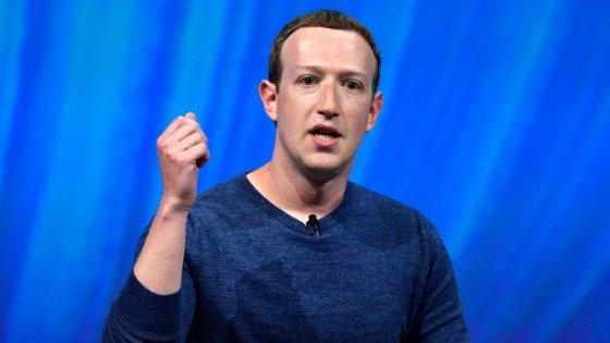O líder do Facebook, Mark Zuckerberg, deixou duras críticas ao Presidente Trump