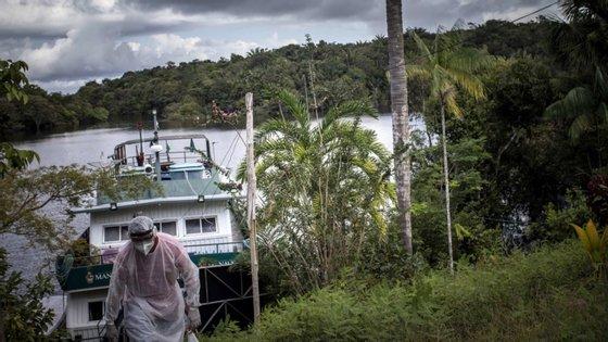 A Amazónia é a maior floresta tropical do mundo e possui a maior biodiversidade registada numa área do planeta
