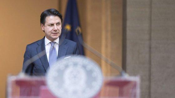 """Primeiro-ministro italiano pediu um """"plano corajoso"""" que seja capaz de """"transformar a crise numa oportunidade"""""""