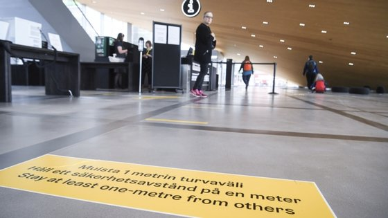 A Finlândia registou 7.108 casos de contaminação com o novo coronavírus, incluindo 326 mortes