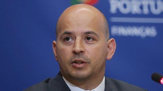 João Leão tomou posse esta segunda-feira como ministro de Estado e das Finanças. Antes era secretário de Estado do Orçamento.