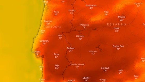 O verão vai começar com muito calor