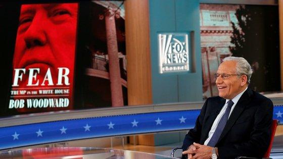 O jornalista Bob Woodward, famoso sobre a sua investigação do caso Watergate, publicou há dois anos o primeiro livro sobre Donald Trump