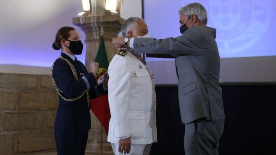 A cerimónia, adaptada às regras de distanciamento físico, decorreu na sala da cisterna do Forte de São Julião da Barra, em Oeiras, Lisboa