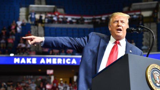 Trump tinha vencido no Oklahoma com 65,32% dos votos, em 2016