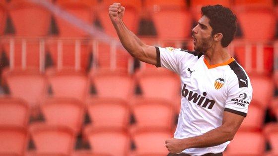 O avançado português foi titular depois de ter começado no banco contra o Real Madrid