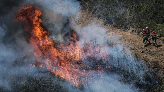 O incêndio está dominado desde as 21h, pouco mais de oito horas depois de ter deflagrado