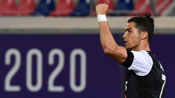 Ronaldo regressou aos golos de grande penalidade e marcou pelo 17.º golo nas últimas 13 jornadas que disputou na Serie A