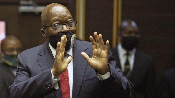 Jacob Zuma foi obrigado a demitir-se do cargo de Presidente da África do Sul em fevereiro de 2018, devido aos vários escândalos de corrupção que mancharam o seu mandato