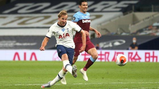 O avançado inglês marcou o segundo golo da equipa de Mourinho já nos últimos minutos da partida