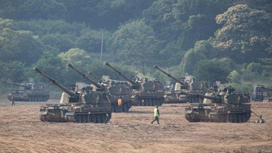 Coreia do Norte ameaçou na semana passada desencadear ações militares não especificadas contra o Sul