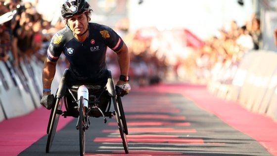 O italiano de 53 anos sofreu na semana passada o segundo grave acidente da carreira