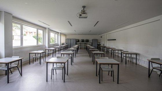 Dois casos positivos da Covid-19 levam ao encerramento da Escola Secundária do Lumiar, em Lisboa.
