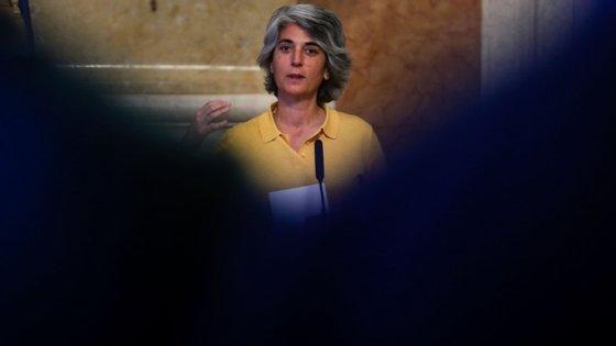 """""""Era muito importante que nos entendêssemos, da Direita à Esquerda, sobre, até ao final do ano, termos este trabalho feito e podermos resolver finalmente o estatuto do profissional da Cultura"""", disse Graça Fonseca"""