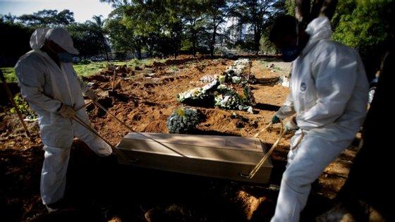 Nas últimas 24 horas, 6.728 novas mortes e 176.060 novos casos foram registados em todo o mundo