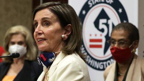 A presidente da Câmara dos Representantes, a democrata Nancy Pelosi, foi uma das principais defensoras da lei