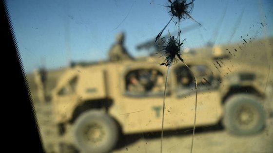 A NATO tem um dispositivo internacional no Afeganistão desde o início da atual guerra, em 2001