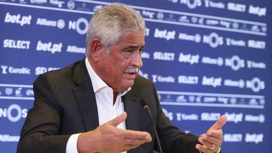 Luís Filipe Vieira terá agora de apresentar nova proposta de Orçamento (que pode ser igual à de hoje) para ser sufragada em mais uma AG