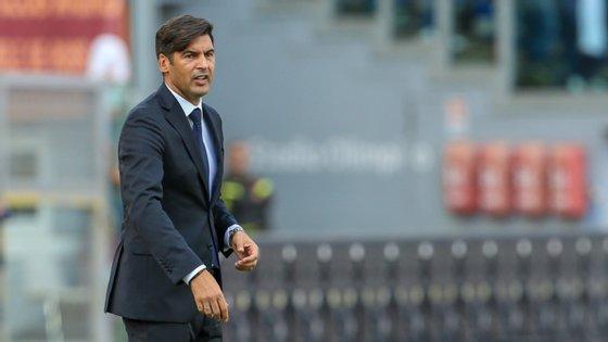 Paulo Fonseca reentrou na Serie A com uma vitória frente à Sampdória mas perdeu agora na deslocação a Milão